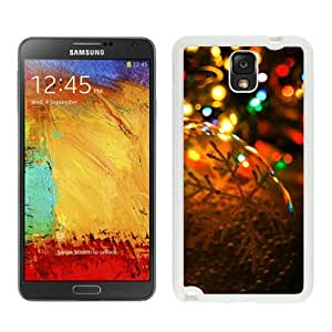 2014 New Style Christmas lights White Samsung Galaxy Note 3 Case 2