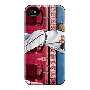MarieFrancePitre Iphone 6 Best Hard Cell-phone Case Customized Stylish Atlanta Braves Series [RgD13054JbBr]