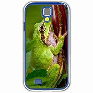 Personalized Samsung Galaxy S4 SIV 9500 Back Cover Diy PC Hard Shell Case Frog White