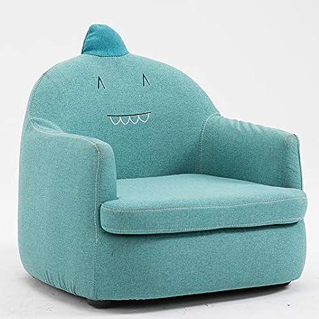 tela peque/ño monstruo beige sill/ón infantil Sof/á para ni/ños princesa linda ni/ña ni/ño solo sof/á peque/ño silla de dibujos animados lavable perezoso sof/á silla para beb/é