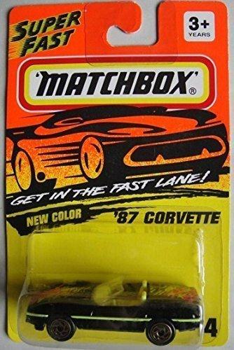 1987 Matchbox (MATCHBOX SUPER FAST 1987 CORVETTE #14)