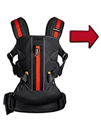 Baby Bjorn Baby Carrier One Outdoors - Black with FREE Safety Reflector BOBEBE Online Baby Store From New York to Miami and Los Angeles