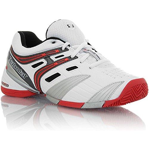 BABOLAT V-Pro 2 Clay Zapatilla de Tenis Caballero blanco