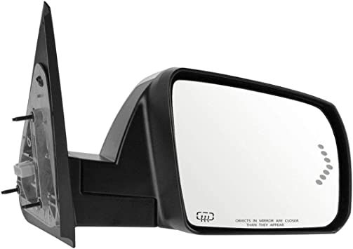 Mirror Power Heat Signal Folding Memory Chrome Cap Right Side for Toyota Tundra