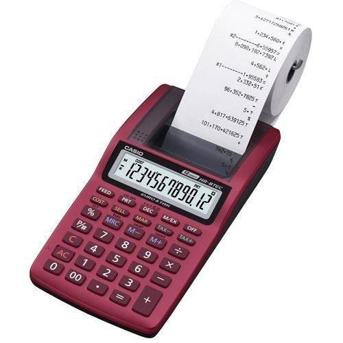 Casio HR-8TEC-RD Calcolatrice miniscrivente