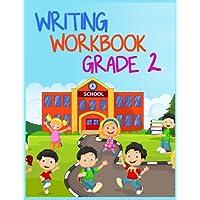 Cuaderno de ejercicios de escritura de grado 2: cuaderno de cuaderno escolar alineado