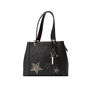 4f4475c94be50 Image Unavailable. Image not available for. Color: Guess Ladies Large PVC Shoulder  Bag SR669136TWI
