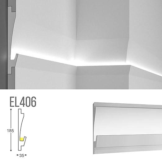 el406 - Camino lineal para luz indirecta difusa LED de pared ...
