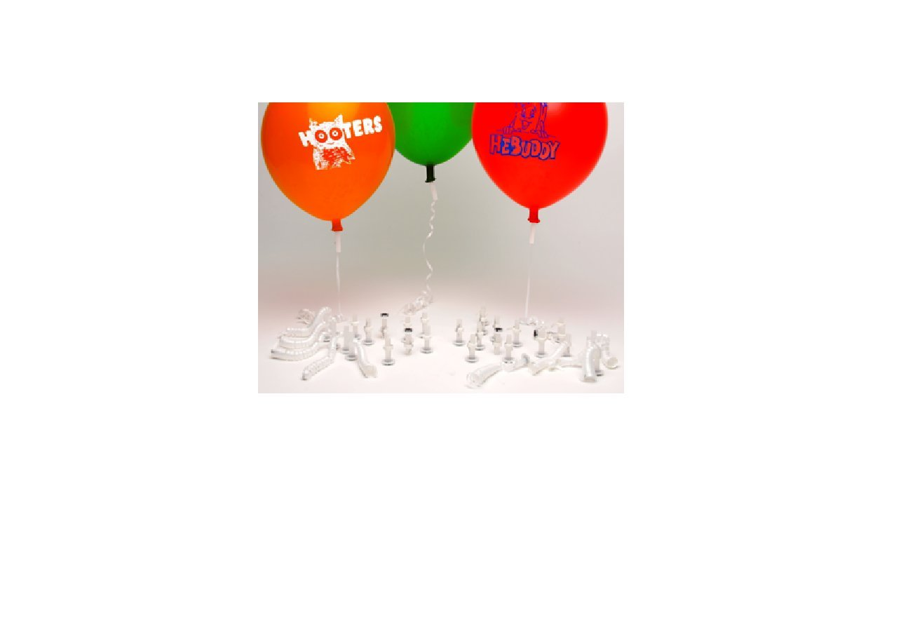 Amazon.com: Big Barrel E-Z Safety Seal Helium Balloon Valves ...