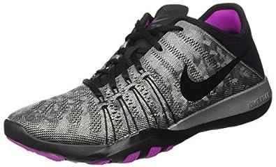 c3fa57c68224 Nike Free TR 6 Print Women s Running Shoe - black black-total .