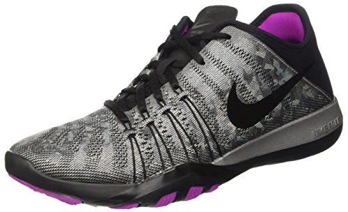 Silver TR Violet 6 Womens Training Hyper Metallic Nike Black Free Shoes 0qPOFxU