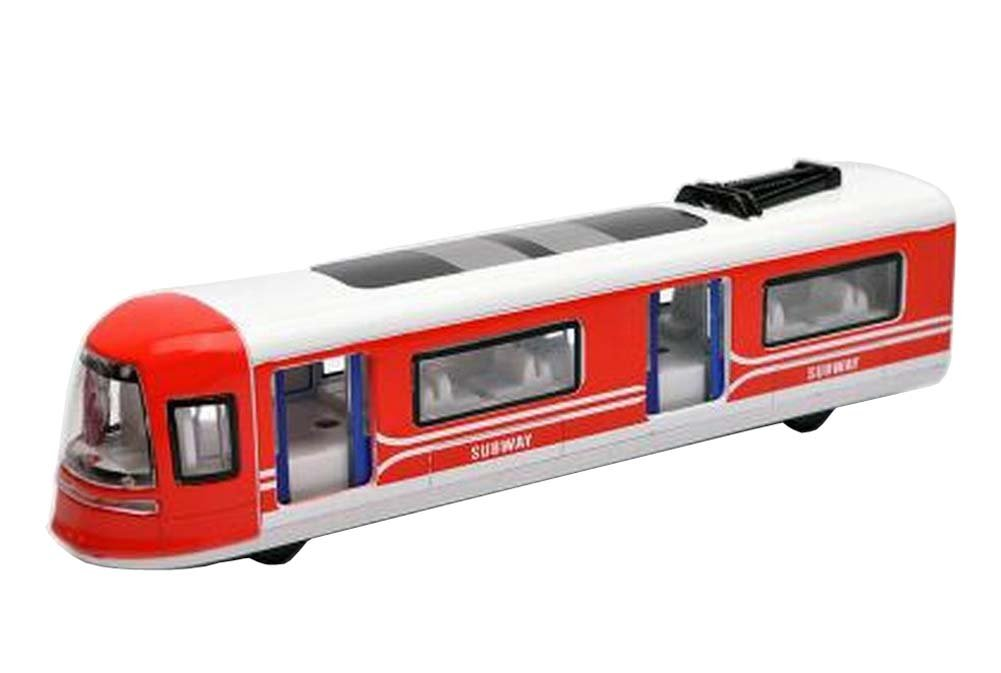 Subway Toy Train Model Toy Trains Simulation Locomotive Red Black Temptation