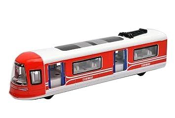 Metro Tren de juguete modelo de trenes de juguete Simulación ...