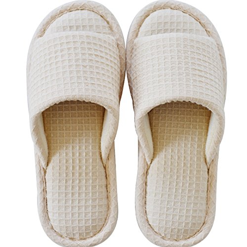 Summer Slippers Travel Drag The Anti-Slip Bath Slippers Cotton Home Slippers Ladies Couple Cool Slippers (3 Colors Optional) (Size Optional) B amENTXi