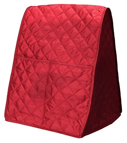 Blender Appliance Cover (Stand Mixer Cover Dust-proof with Organizer Bag for Kitchen Mixer (Red))