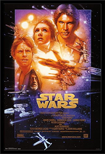 Trends International Wall Poster Star Wars Episode 4, 22.375 x 34