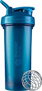 BlenderBottle Classic V2 Shaker Bottle, 28-Ounce, Ocean Blue