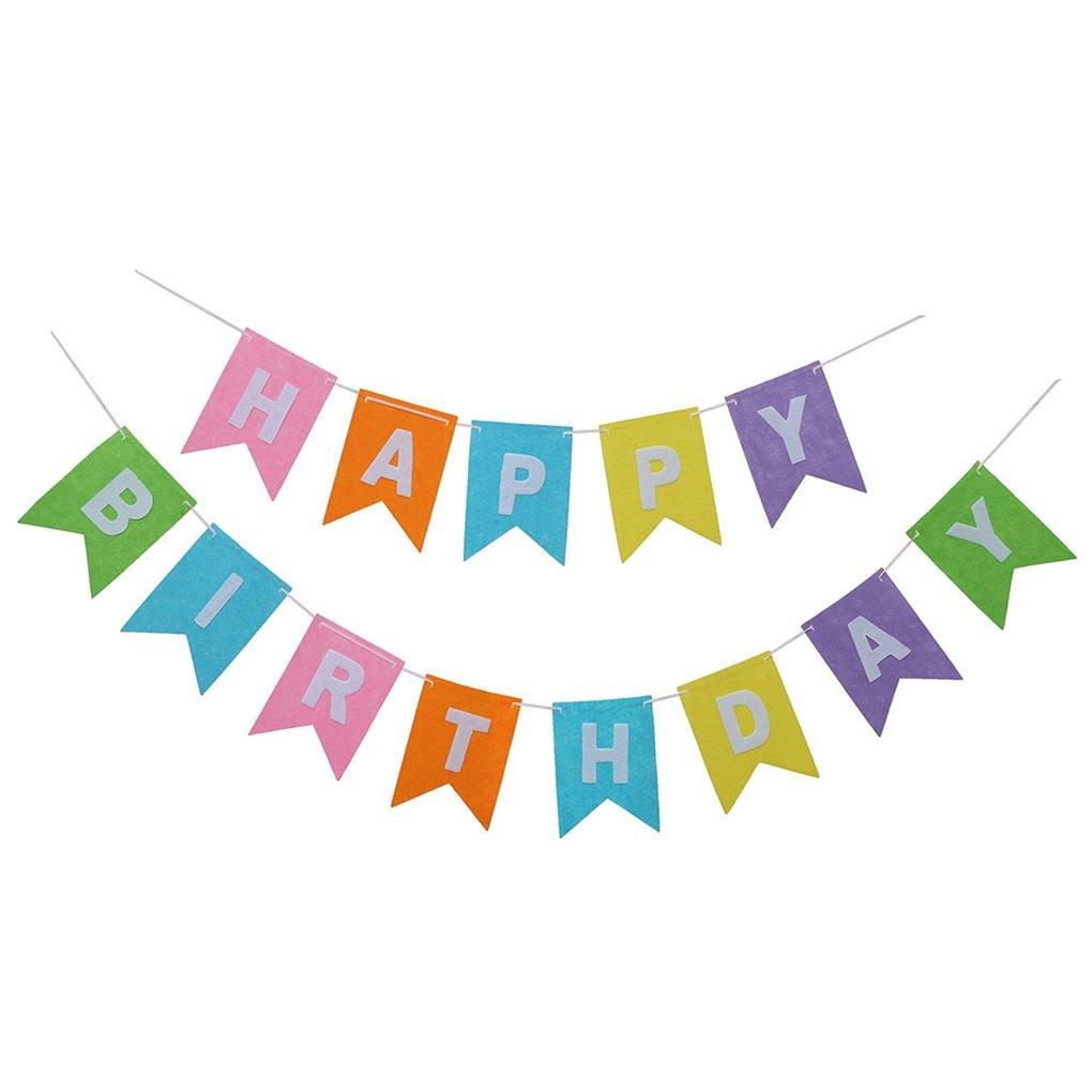 TFgirl Geburtstagsflagge Banner Party Babyparty 1. Geburtstag Dekor ...