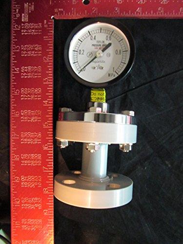 Kurita Water 75Mm 0 1 0Mpa Pressure Gauge Diaphragm Migishita 75Mm 0 1 0Mpa   A 10K15a 75X1mpa
