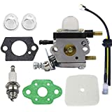 C1U-K54A Carburetor Repower Kit for 2-Cycle Mantis 7222 7222E 7222M 7225 7230 7234 7240 7920 7924 Tiller / Cultivator
