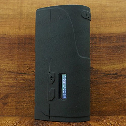 Silicone Case for IPV 400 200W TC Protective Skin Pioneer4You IPV400 Sleeve Cover Wrap (Black)