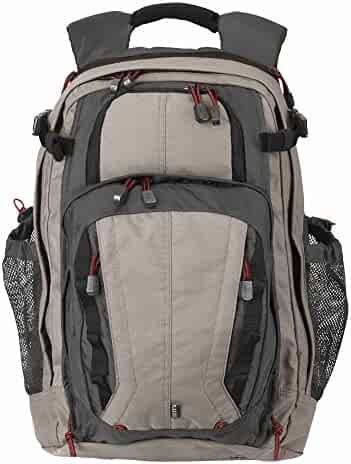 5.11 Tactical COVRT 18 Backpack Durable 500D Nylon Full-sized CCW Covert Tactical Utility Backpack - Style# 56961