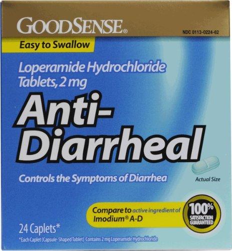 Good Sense Loperamide Hydrochloride 2Mg Anti-Diarrheal Caps(Pack Of (Loperamide Caps)
