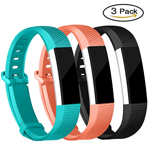 Fitbit Alta 밴드 및 Fitbit Alta HR 밴드 용 iGK, Fitbit Alta 및 Fitbit Alta HR 용 최신 조절 식 스포츠 스트랩 교체 밴드 Smartwatch Fitn/iGK For Fitbit Alta Bands and Fitbit Alta HR Bands, Newest Adjustable Sport Strap Replacement Ban...