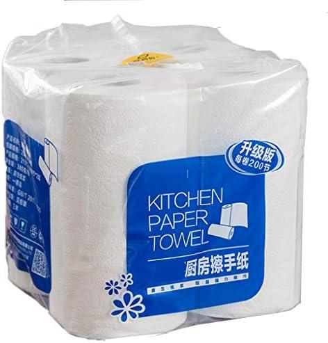 Perfeclan ワンロール竹タオルは6ヶ月のタオルを置き換えることができます-ヘビーデューティエコフレンドリーマシンウォッシャブル再利用可能な竹タオル!