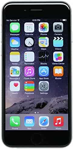 Apple iPhone 6 Plus, GSM Unlocked, 64GB - Space Gray (Refurbished)