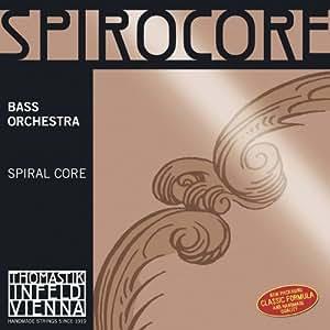 Corde Thomastik per contrabbasso Spirocore Spiralkern Do Soft Set orchestra. 4/4;
