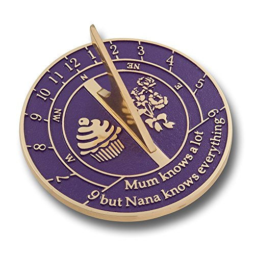 Unique Sundial Gift Idea For Nana by NAUTICALMART
