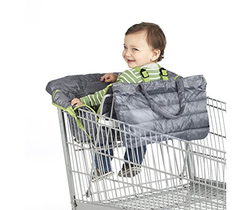 H.I.S. Juveniles Nuby 2-in-1 Quilted Shopping Cart and Hi...