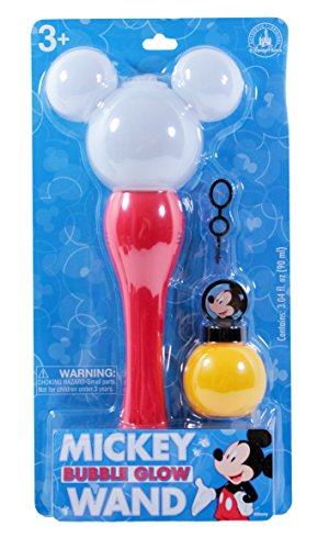 Disney Parks Exclusive Mickey Mouse Light-Up Glow Bubble (Mickey Bubbles)