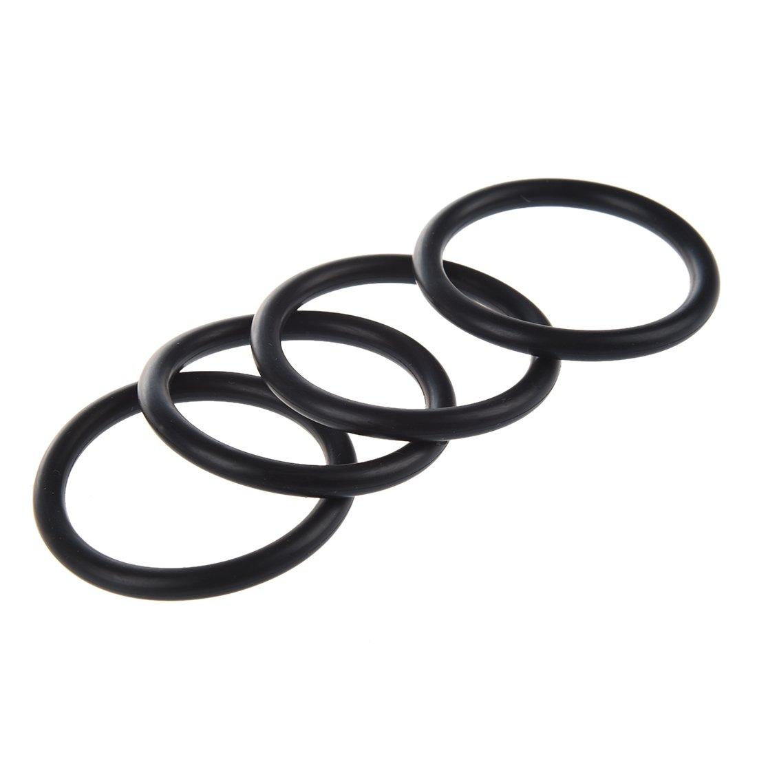 10 x Rondelles flexibles de forme de O en nitrile caoutchouc 50mm x 5mm R TOOGOO
