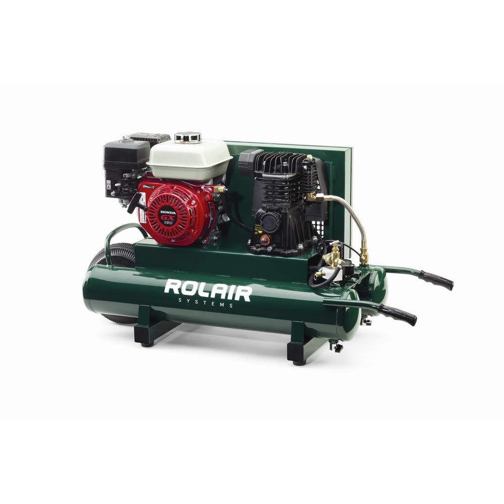 Portable Gas Air Compressor, 9 gal., 6.5HP