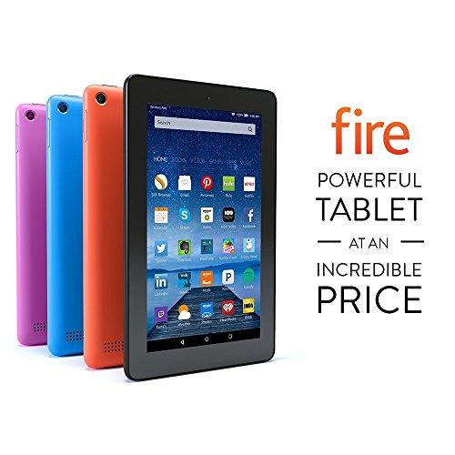 """Fire Tablet, 7"""" Display, Wi-Fi, 8 GB -..."""