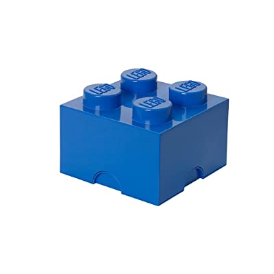 Lego Storage Brick 4, Blue - 4003