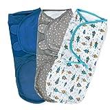 Best Summer Infant Baby Sheets - Summer Infant SwaddleMe Adjustable Infant Wrap, Superstar, Large Review