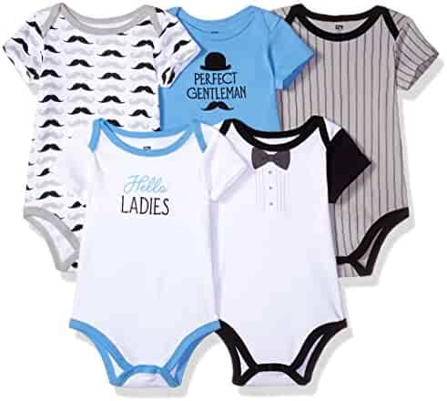 Hudson Baby Infant Cotton Bodysuits