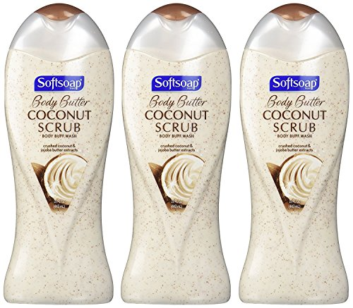 Softsoap Body Butter Coconut Scrub - 5