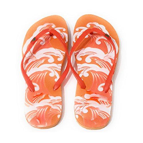 Suela Verano Naranja de Playa Varios Chanclas Ola Correa y y Piscina Naranja Colores Modelos Mujer 64nwUv