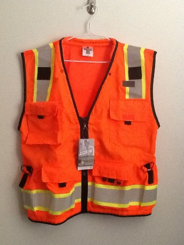 - ML Kishigo - Caltrans Series Polyester/Ultra-Cool Mesh, Class 2 Orange - Large