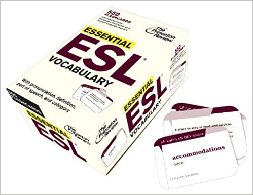 Essential ESL Vocabulary (Flashcards): 550 Flashcards with Need-To ...