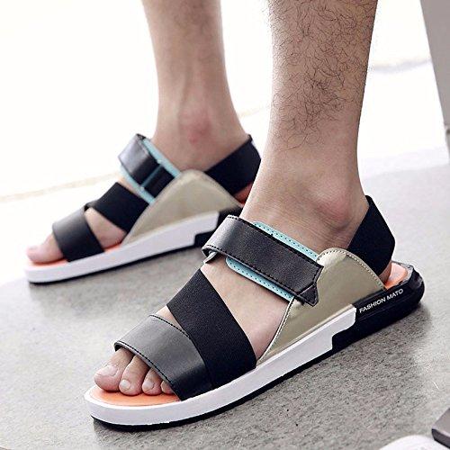 Estate Men Flip flop tendenza uomini sandali summerTrend moda non slip Beach trend Leisure Sandali, Orange, UK = 7.5, EU = 41 1/3