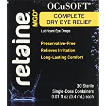 Ocusoft Retaine MGD Ophthalmic Emulsion, Milky White Solution, Single Use Containers, 0.3 Fluid Ounce