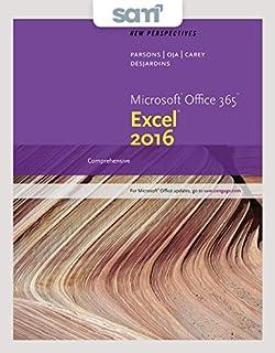 Bundle New Perspectives Microsoft Office 365 Excel 2016 Comprehensive Loose Leaf
