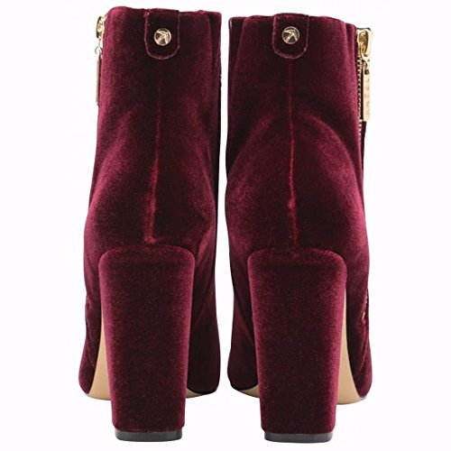 Red Red con burgundy and Zeppa Sandali donna RavelFenice RavelFenice RavelFenice gIqw5ax