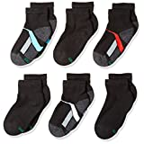 Hanes boys Big Boys 6-pack Ankle Socks