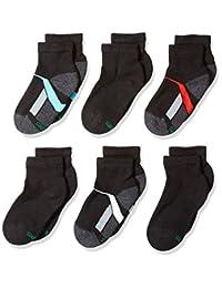 Hanes boys Big Boys 6-pack Ankle Socks